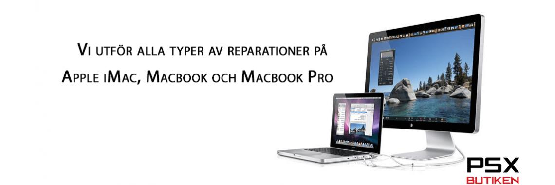 iMac, Macbook reparation